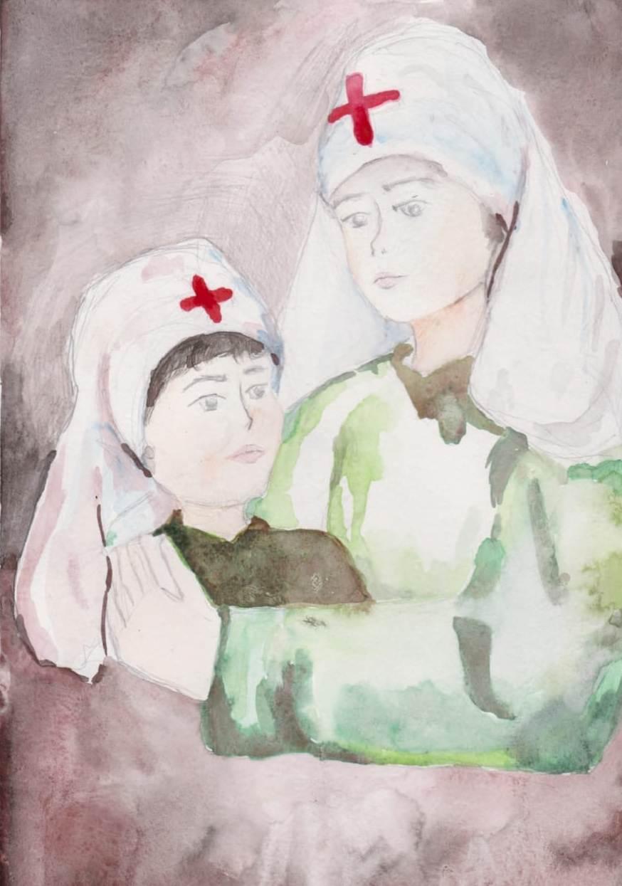 Черненькая Е. 16 лет Медсестрички