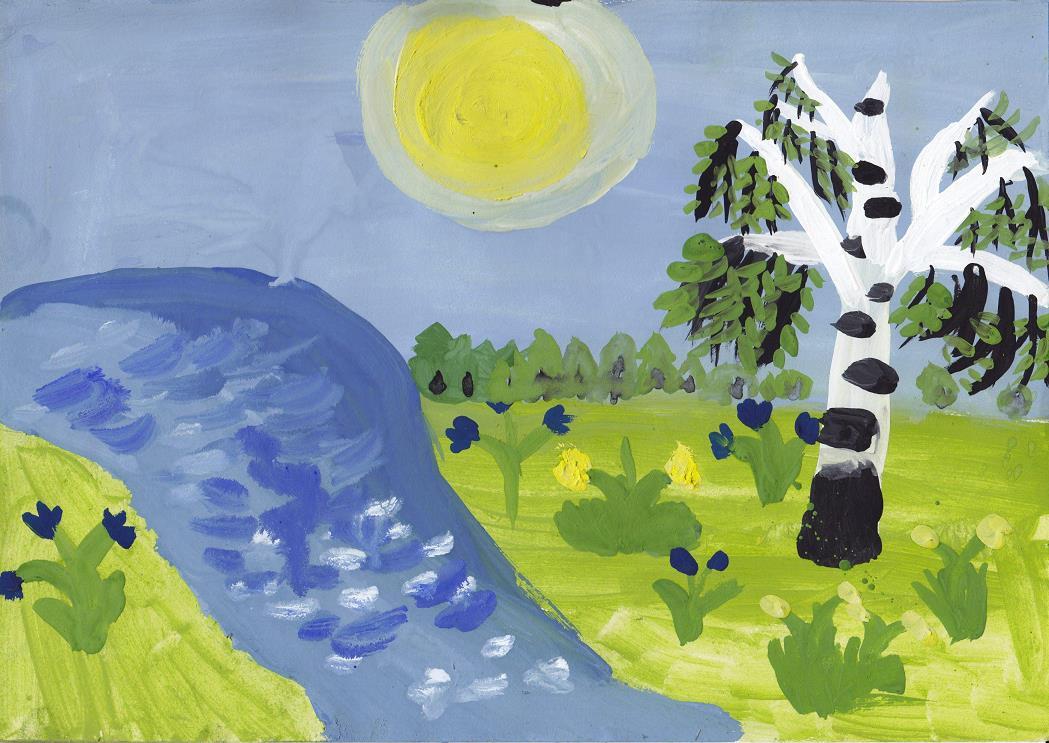 Галерея детского рисунка на во